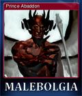 Malebolgia Card 3