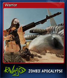 Ravaged Zombie Apocalypse Card 1