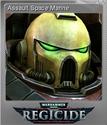 Warhammer 40,000 Regicide Foil 07