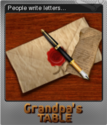 Grandpa's Table Foil 05