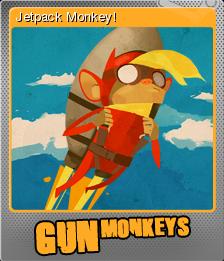 Gun Monkeys Foil 1