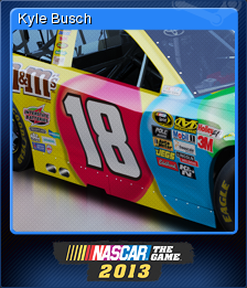 NASCAR the Game 2013 Card 4