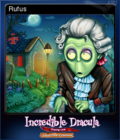 Incredible Dracula Chasing Love Collector's Edition Card 2