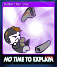 No Time to Explain Card 6
