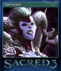 Sacred 3 Card 09