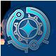 Trinium Wars Badge 4