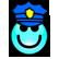 Break Into Zatwor Emoticon happypolice
