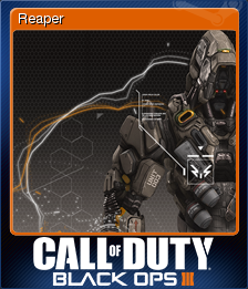 Call of Duty: Black Ops III - Reaper | Steam Trading Cards