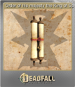 Deadfall Adventures Foil 15