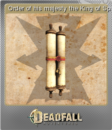 Deadfall Adventures Foil 15