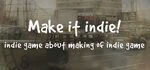 Make it indie Logo