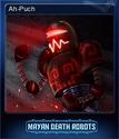 Mayan Death Robots Card 2