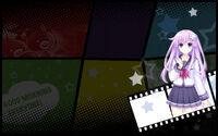 MegaTagMension Blanc + Neptune VS Zombies Background Nepgear Background