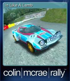 Colin McRae Rally Card 5