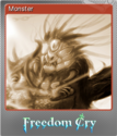 Freedom Cry Foil 1