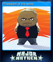 Major Mayhem Card 03