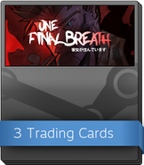 One Final Breath Episode One Booster Pack