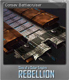 Sins of a Solar Empire Rebellion Foil 3