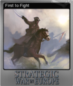 Strategic War in Europe Foil 2