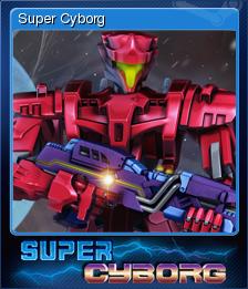 Super Cyborg Card 5
