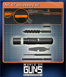 World of Guns Gun Disassembly Card 10