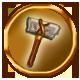 Heroines Quest The Herald of Ragnarok Badge Foil