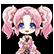Hyperdevotion Noire Goddess Black Heart Emoticon Resta