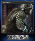 America's Army Proving Grounds Card 3