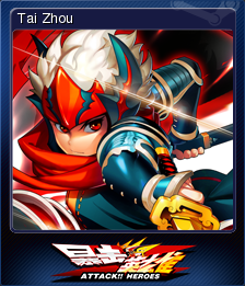 Attack Heroes Card 8