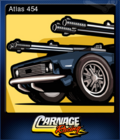 Carnage Racing Card 1