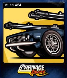 Carnage Racing Card 1