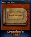 Grandpa's Table Card 08