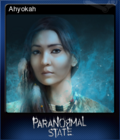 Paranormal State Poison Spring Card 8