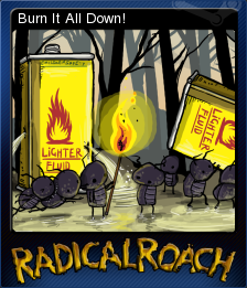 RADical ROACH Deluxe Edition Card 05