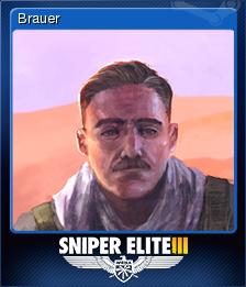 Sniper Elite 3 Card 1