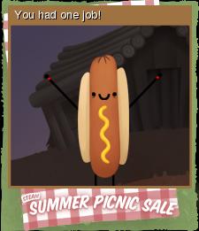 Summer Picnic Sale Card 09