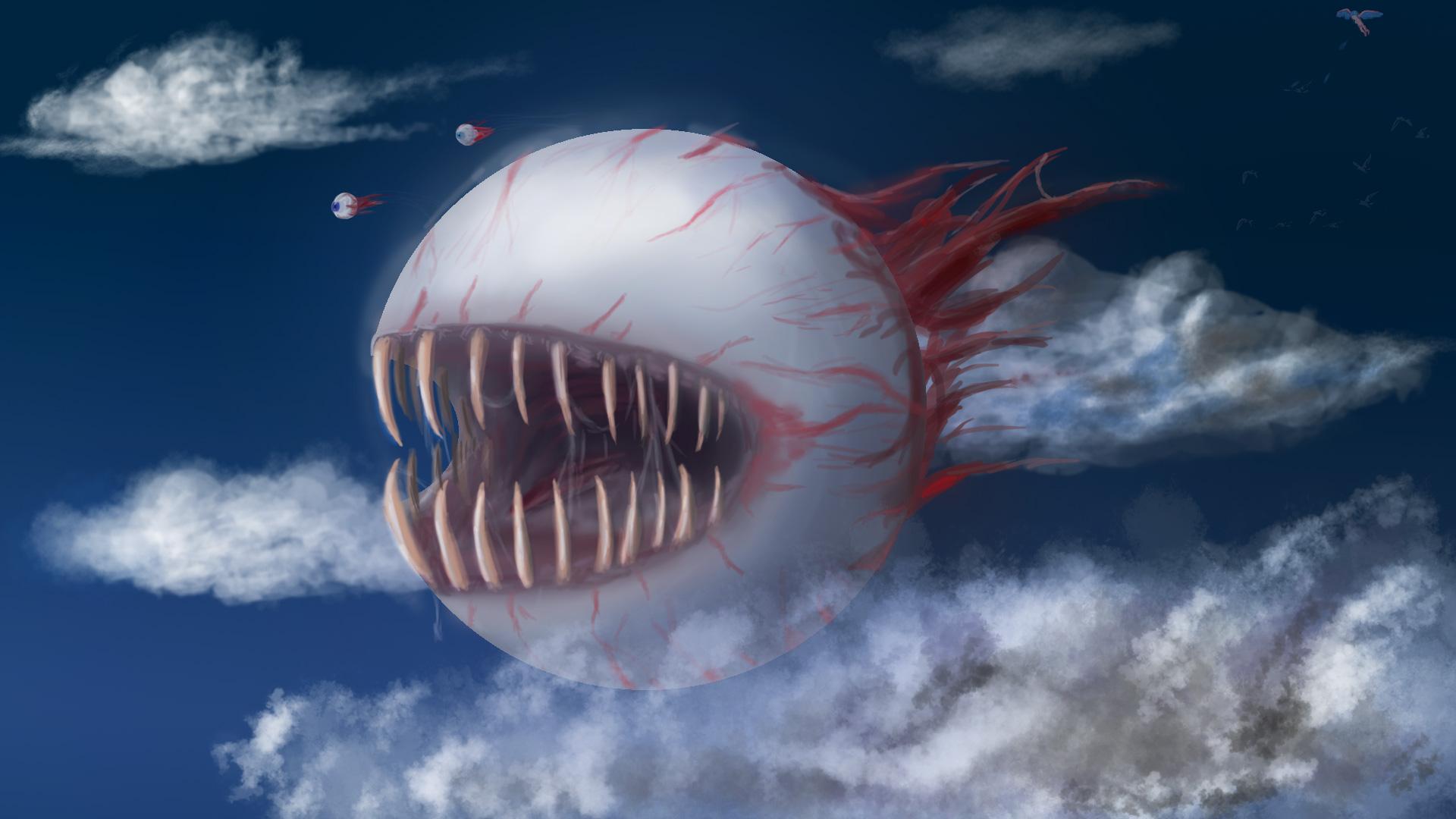 terraria the eye of cthulhu
