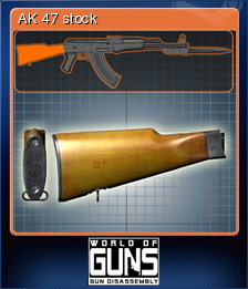 World of Guns Gun Disassembly Card 02