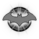 Batman Arkham Asylum Game of the Year Edition Badge Foil