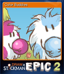 Draw A Stickman Epic 2 Color Buddies Steam Trading Cards Wiki