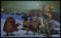 Steam Heroes Background The Barons Army of Doom