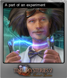 Time Mysteries The Ancient Spectres Foil 5