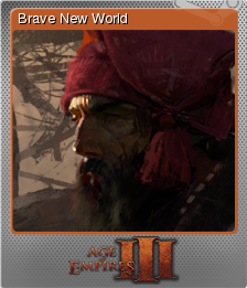 Age of Empires III - Brave New World | Steam Trading Cards Wiki