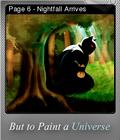 But to Paint a Universe Foil 09