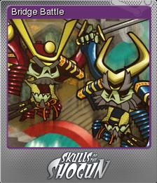 Skulls of the Shogun Foil 1