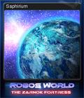 Robo's World The Zarnok Fortress Card 5