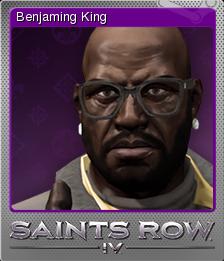 Saints Row IV Foil 2