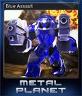 Metal Planet Card 2