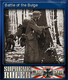 Supreme Ruler 1936 Card 6