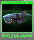 Battlezone 98 Redux Foil 08